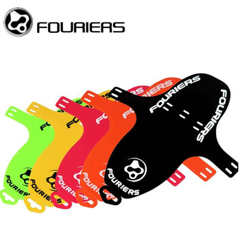 FOURIERS Bike Bicycle MTB Quick Release Fender Mudguard Front Fork Rear PP 6 color 27g 19g 6 Color beyond Ass Saver