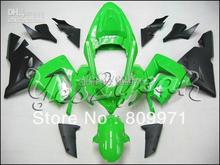 K242 Top Green Black Fairing kit for KAWASAKI Ninja ZX10R 04 05 ZX-10R ZX 10R 2004 2005 ZX 10 R Motorcycle Fairings set(China (Mainland))