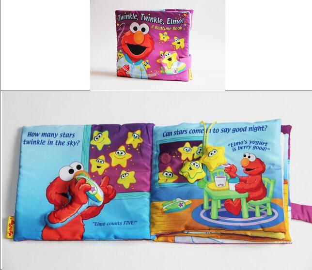 product Softplay  Twinkle Elmo A Bedtime Anak kain Book Bayi Cerita