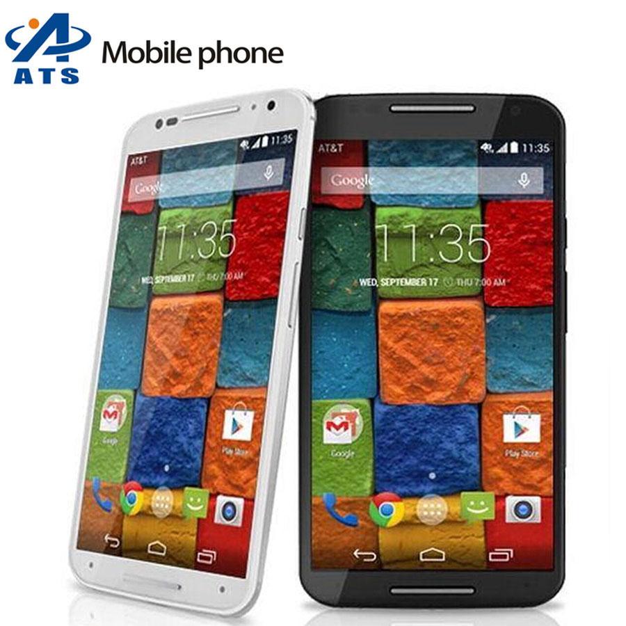 "Original Motorola Moto X 2nd Gen XT1097 Mobile Phone 5.2 ""Touch Screen 2GB RAM 16GB ROM 3G&4G GPS WIFI AT&T x2 phone(China (Mainland))"