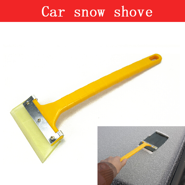 2015 NEW Sofa Auto Car Snow Shovel Car Ice Cleaning Tool Rubber Ice Scraper Car Wash Washing Cleaning Scraper Tools Film(China (Mainland))