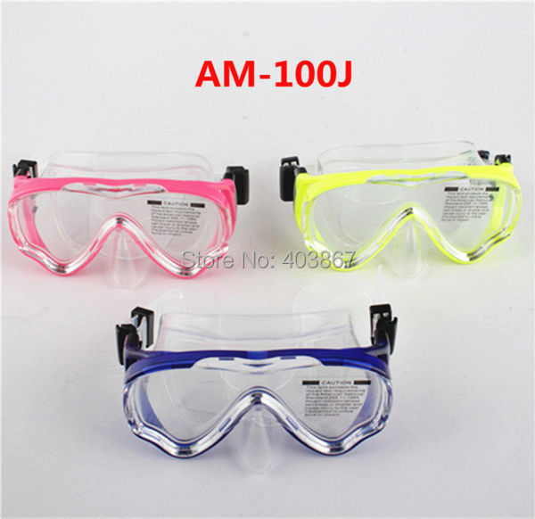 Boys and girls unisex adjustable swimming glasses kids Diving Mask for sale(China (Mainland))