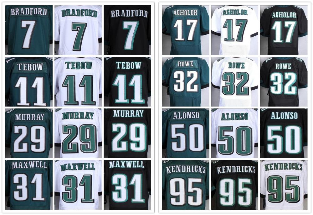 #29 DeMarco Murray Jersey Sam Bradford Kiko Alonso Byron Maxwell Tim Tebow Jersey Eagles Stiched elite American football jerseys(China (Mainland))