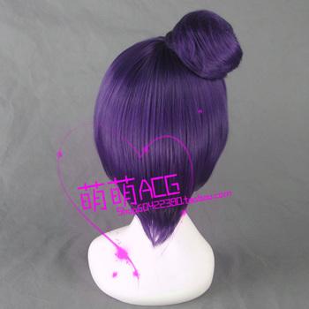 NARUTO Konan Purple & Short+Cosplay Costume Wigs+Wig Cap Free Shipping Purple & Short+Cosplay Costume Wigs+Wig Cap Free Shipping