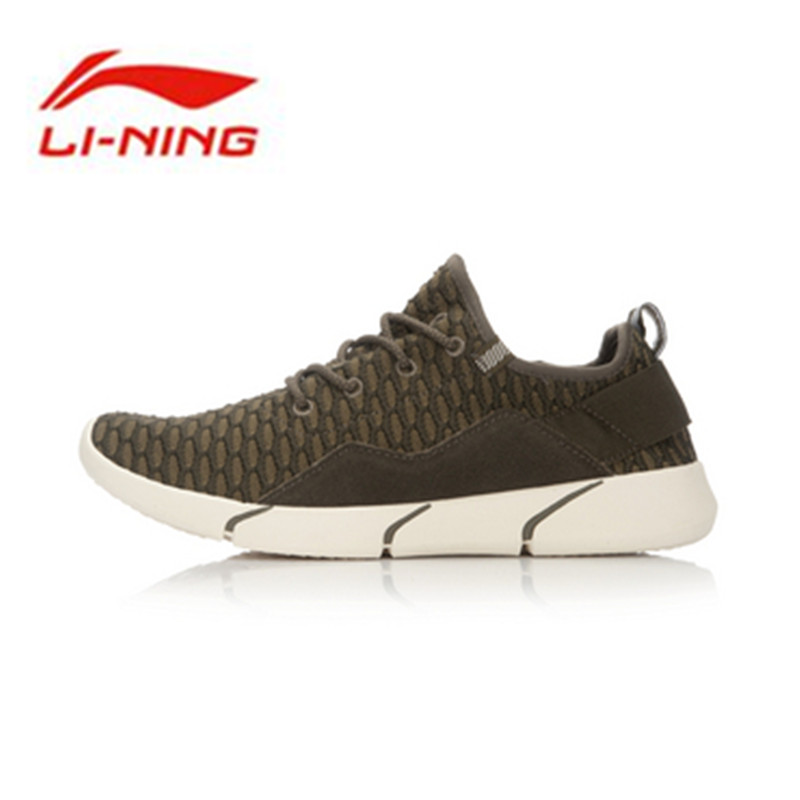 Li Ning 2016 Origial Men's Sports Life Series Shoes Sneakers Run Shoes Sports Walking Shoes Breathable GLKL049
