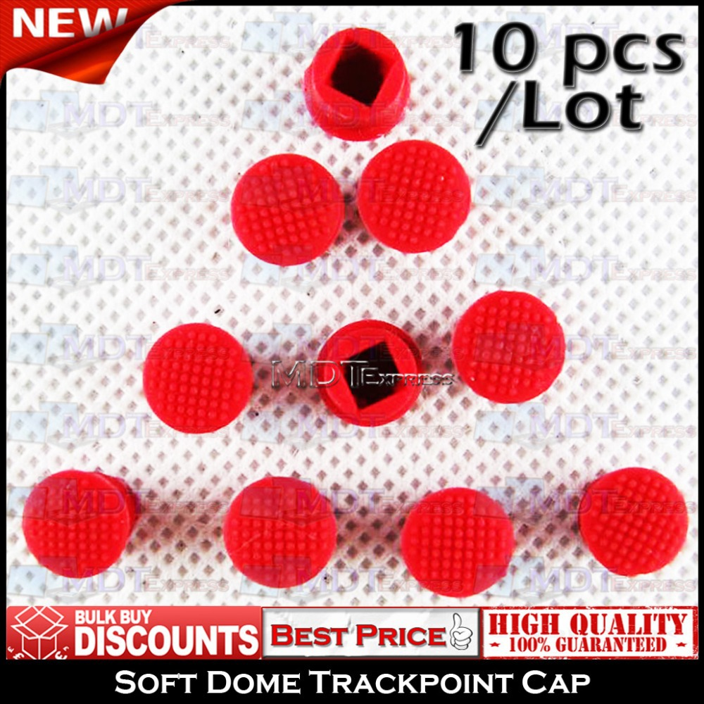 New! 10pcs/lot Keyboard Mouse Trackpoint Trackball Track Point Ball Cap Red Soft Dome for IBM Lenovo ThinkPad(China (Mainland))