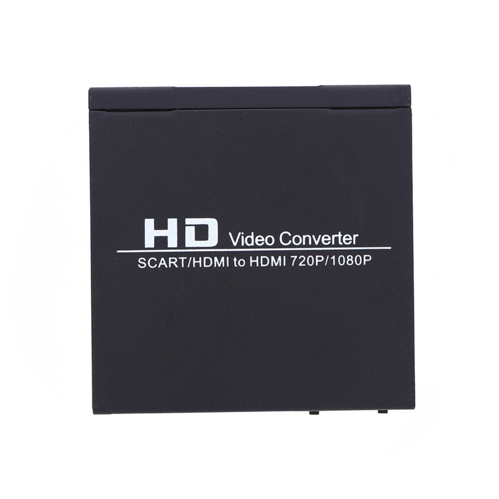 HDMI To HDMI HD Video Converter of Scart/HDMI to HDMI 720P 1080P HD Video Converter Monitor Box For HDTV DVD STB Converter(China (Mainland))