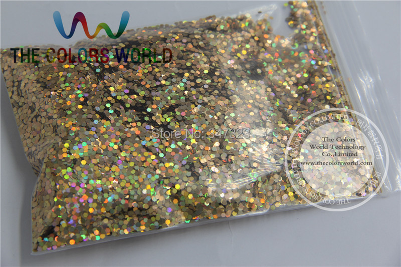1.5MM Laser Red Gold Color Glitter Powder,holographic Color Glitter for nail art or Other Decoration(China (Mainland))