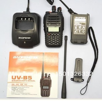 Radio Dual Band Walkie Talkie UHF VHF Baofeng UV-B5 Portable Handheld Radio