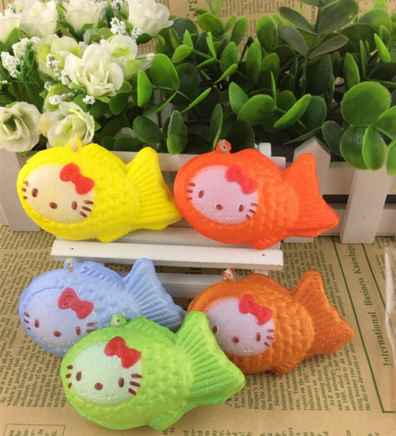 30PCs/lot wholesale hello kitty squishy rare squishies buns with tag 5CM cell mobile phone strap charm free shipping