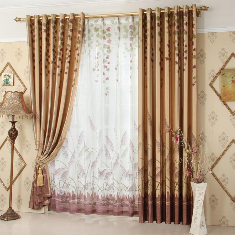 online kaufen gro handel rustikale gardinen aus china. Black Bedroom Furniture Sets. Home Design Ideas