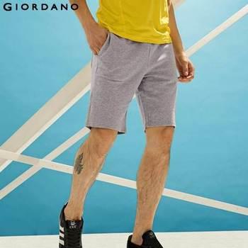 Джордано мужчины бренд летом 100% хлопок шорты для мужчин мужские свободного покроя шорты мода мужской шорты-бермуды Masculina де Marca