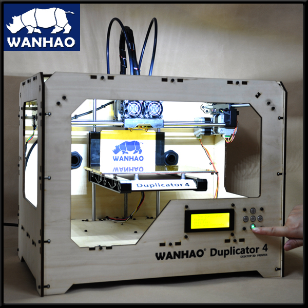 BUILD 3D PRINTER Wanhao with 2 extruder parts