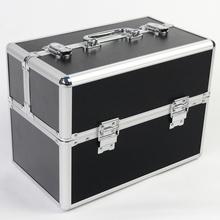 34 см черный косметика косметичка чемодан коробка для косметических инструментов коробка для ювелирных изделий хранения ногтей коробка