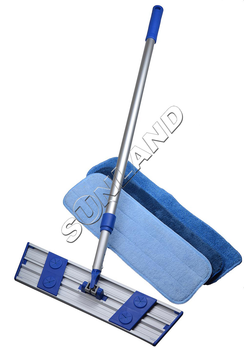 Sinland Microfiber Dust Mop Lightweight Rotating Mop Telescoping Aluminum Handle with 3 Free Microfiber Mop Pads(China (Mainland))