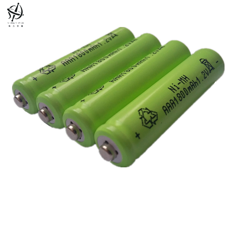 DING LI SHI JIA New 8pcs AAA 1800mAh 1.2 V Quanlity Rechargeable Battery AAA NI-MH 1.2V Rechargeable 3A Baterias(China (Mainland))