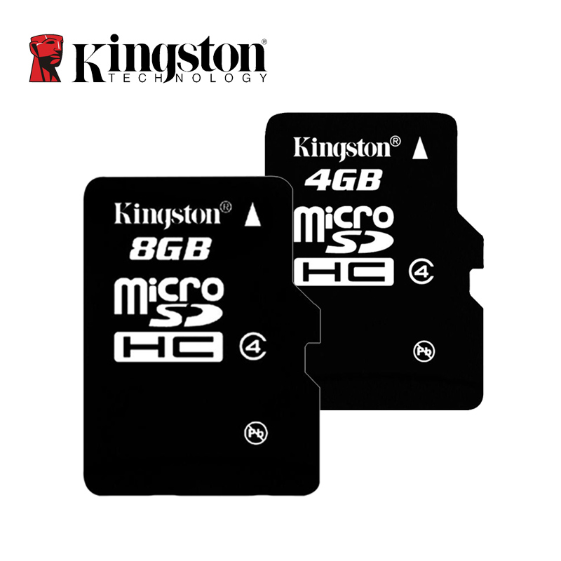 Memory Card KINGSTON Micro SD Card 4GB 8GB Class 4 Mini Microsd Card Class 4 TF Card For Phones Mp3 Tablet and Camera(China (Mainland))