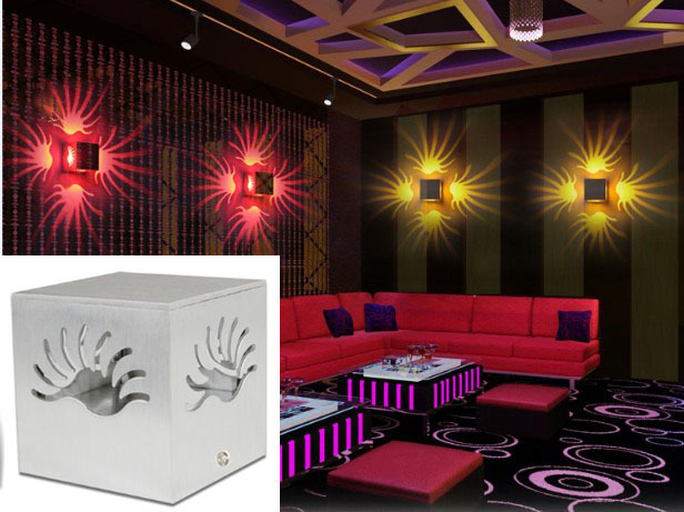 Modern Led Wall Light Hotel Background KTV Lamp Holiday Lights Home Decor Res
