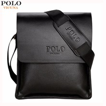 Buy VICUNA POLO Famous Brand Leather Men Bag Casual Business Leather Mens Messenger Bag Vintage Men's Crossbody Bag bolsas male for $13.29 in AliExpress store