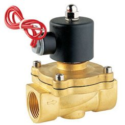 """Free Shipping 5PCS 1"""" 25mm Pore Water Electric Solenoid Water Valve 2W250-25 110V(China (Mainland))"""