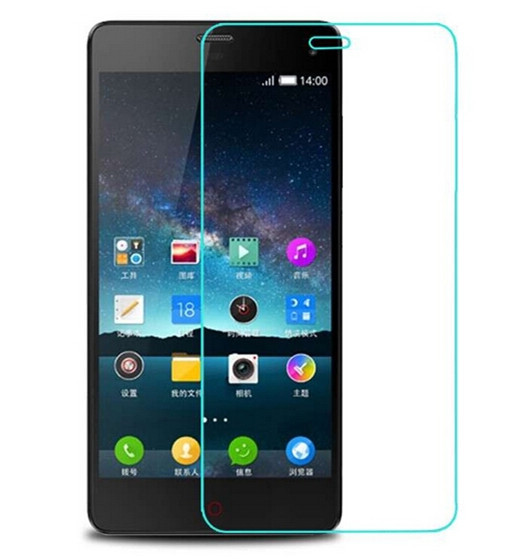 9H For ZTE Nubia Z7 mini 0.26mm Utra-thin 2.5D Arc Edge Exprosion-proof Premium Tempered Glass Screen Protector(China (Mainland))
