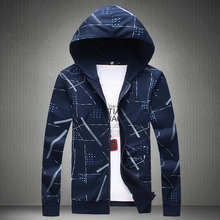 2016 Autumn Spring Men Sweatshirts Hoodies Single Zipper Hooded Casual Plus Size M-5XL Colors 4 - New Fashion Clothing Flagship Store store