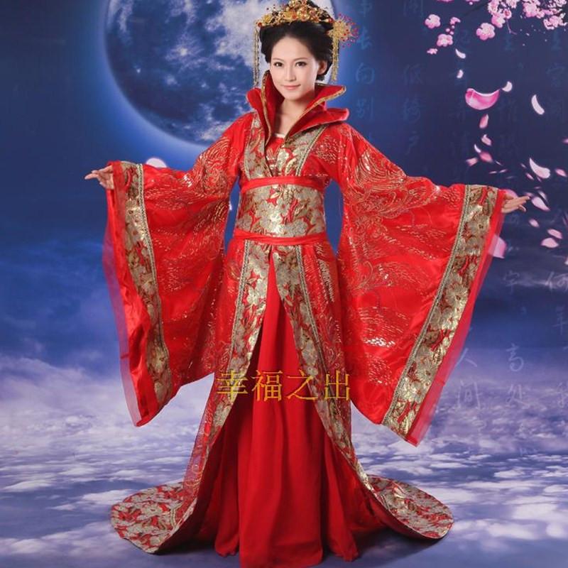 ancient chinese costume women women's hanfu dresses china hanfu dress cosplay clothing traditional women ancient chinese costume(China (Mainland))