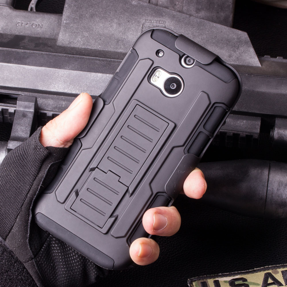 For HTC One M7 M8 M9 Case, Future Armor Impact Holster Hard Case For HTC One M7 M8 M9 Mobile Phone Protective Back Cover Cases(China (Mainland))