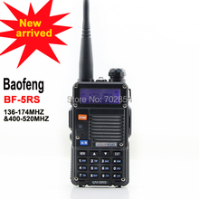 Free shipping portable radio transmitter FM radio BAOFENG UV-5RS radio walkie talkie
