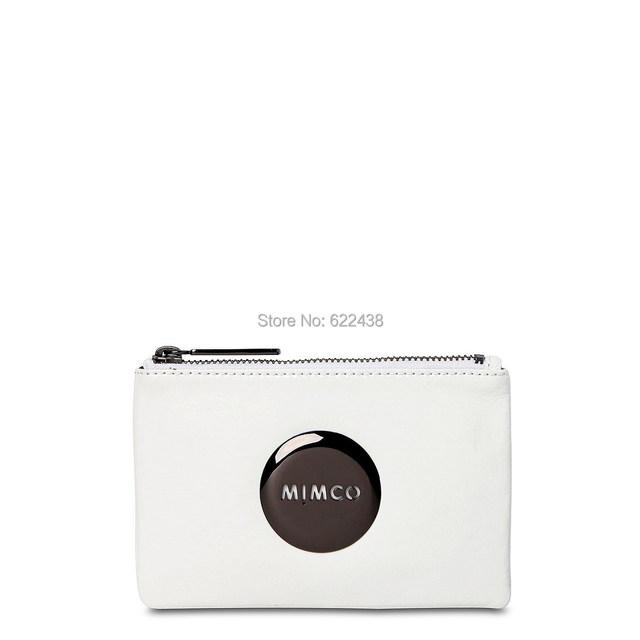 Mimčo белый лакированной кожи бронза знак прекрасный небольшой мим мешок