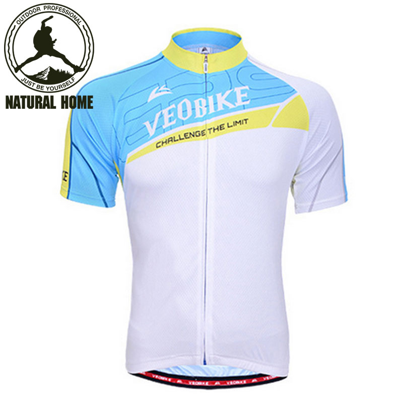 [NaturalHome] Brand Sport Ciclismo Summer Fitness Body Building Men's Shortsleeve Cycling Clothing Quick-Dry Bike Jerseys(China (Mainland))
