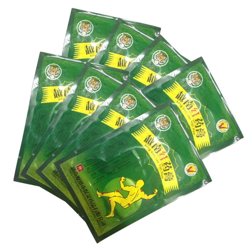 48pcs Vietnam Red Tiger Balm Plaster Muscular Pain Stiff Shoulders Neck Massage Pain Relieving Patch Relief Health Care