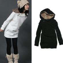 Wholesale 2015 Women Hoodies Fashion Fleece Pullovers Women Autumn Coat Long Sleeve Sweatshirts for Lady Hoody Loose Outerwear(China (Mainland))