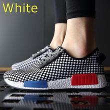 2016 New Spring Summer Men's Casual Shoes Breathable Fashion Men Lace-up Canvas High Quality Shoes Man Flats Big Size 39-44(China (Mainland))