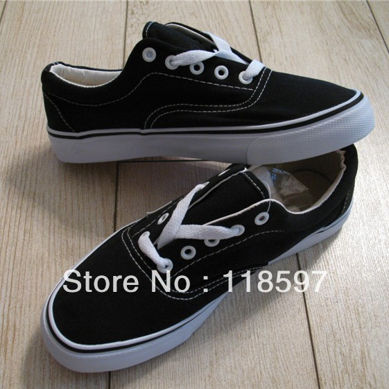 Lovers shoes classic black lacing era grey canvas shoes, fashion and hotsale canvans shoes, lowest price for drop sale