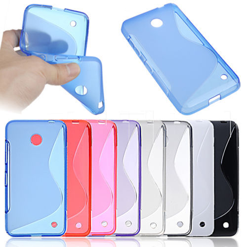 For Nokia 630 Case S-Line TPU Gel Case For Nokia Lumia 630 635 636 638 Back Cover Case Silicone Rubber Case(China (Mainland))