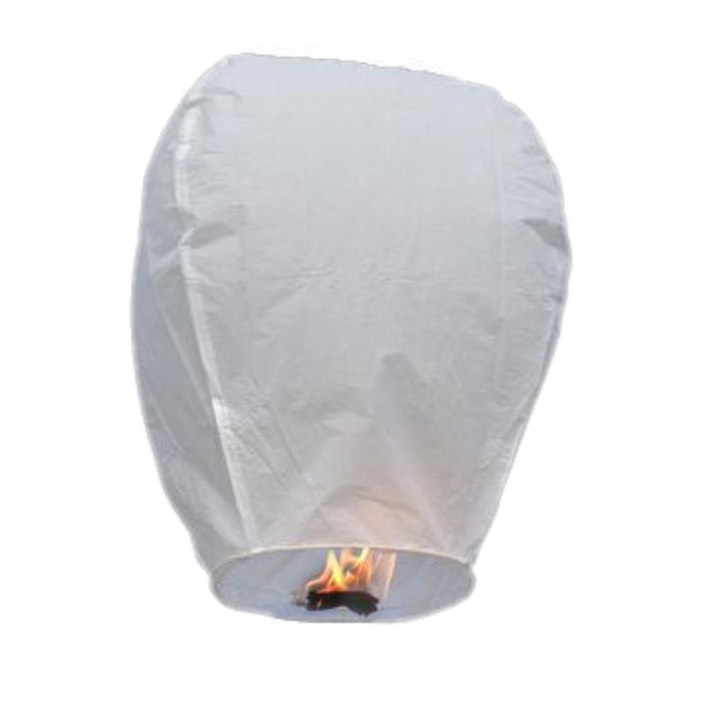 10pcs/lot Chinese Kongming wishing Lantern white flying Sky balloon paper lantern Lamp for Wedding Birthday Party Celebration(China (Mainland))