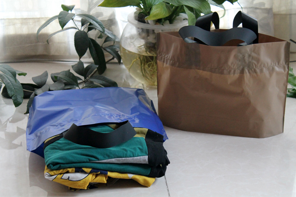 40*30+8cm Plastic Brown Bag Gift Fashion Shopping Packaging Bags Free Shipping(China (Mainland))