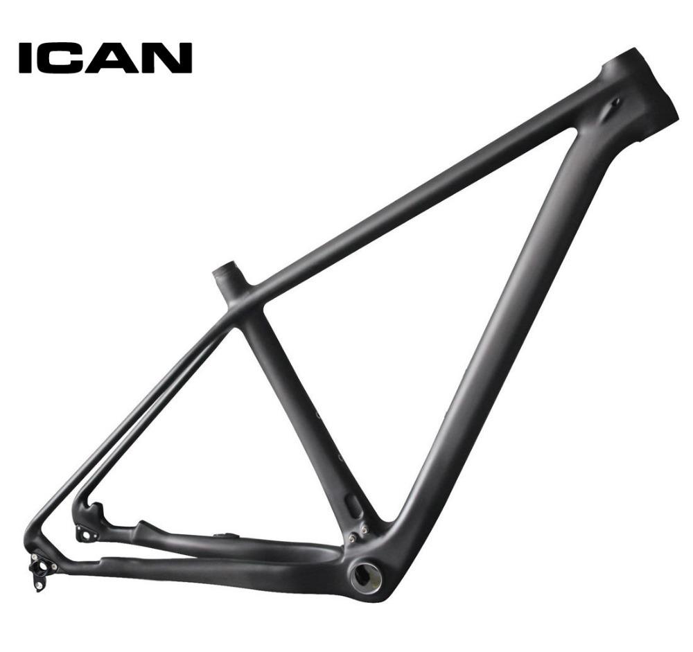 ICAN 29ER carbon frame mtb mountain bike 142x12 135x9 UD-matt mtb carbon frame 29er BB92 bottom bracket bicycle frame X6(China (Mainland))