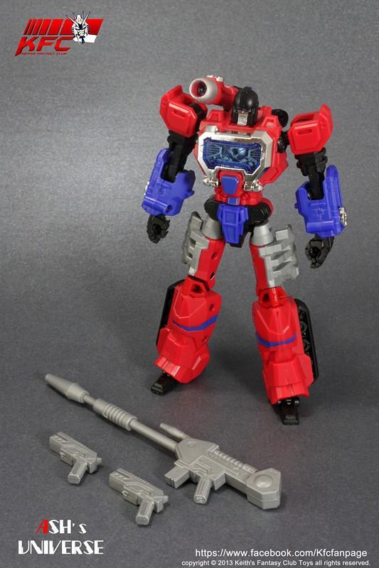 Keith Fantasy Club METAL MC20 Micro Robot.Red Version<br><br>Aliexpress