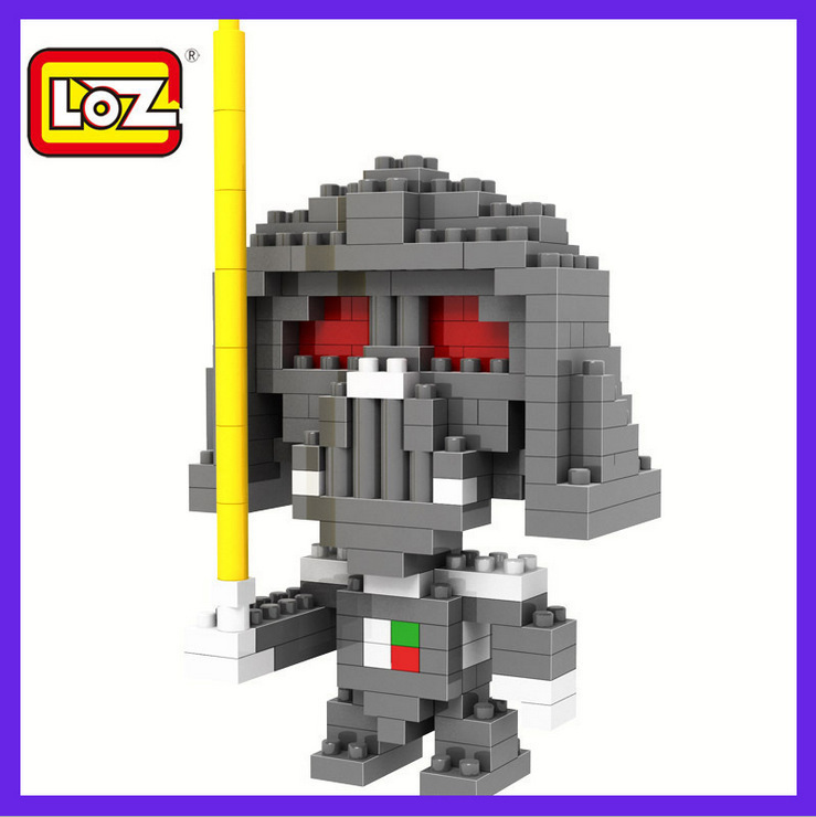 2014 Star Wars Darth Vader superhero learning educational toy building blocks Lego compatible Loz9334 - Adult store supplies