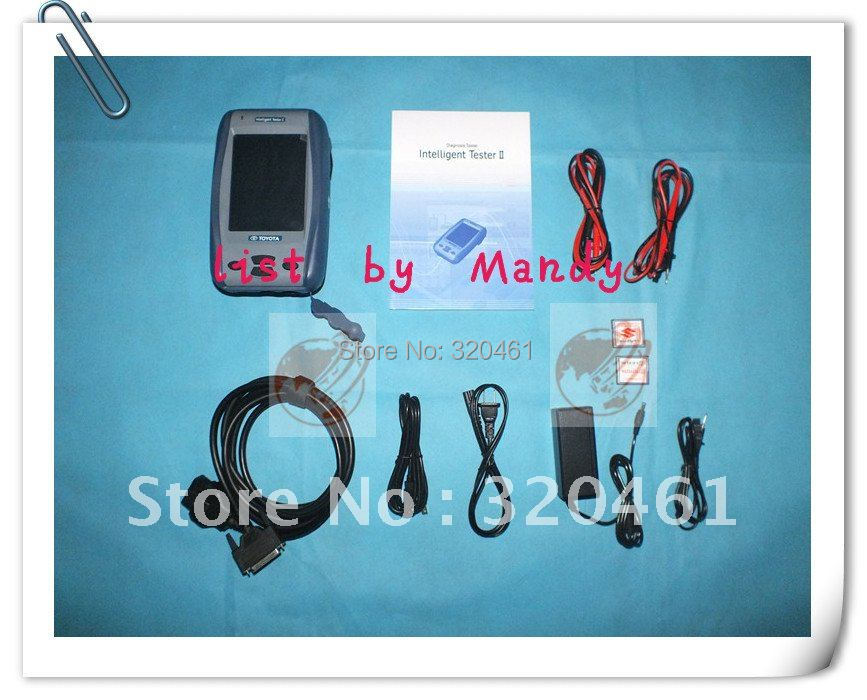 by EMS or Intelligent IT2 denso tester 2 inluding for toyota lexus and suzuki card--list by Mandy(China (Mainland))