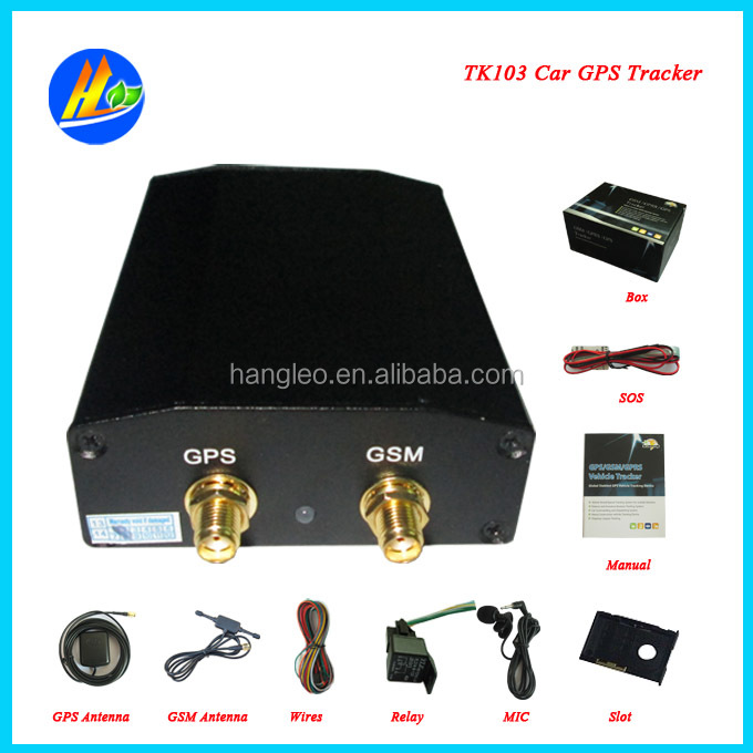 CAR/VAN SECURITY tracking device with ALARM ,GPS TRACKER tk103(China (Mainland))