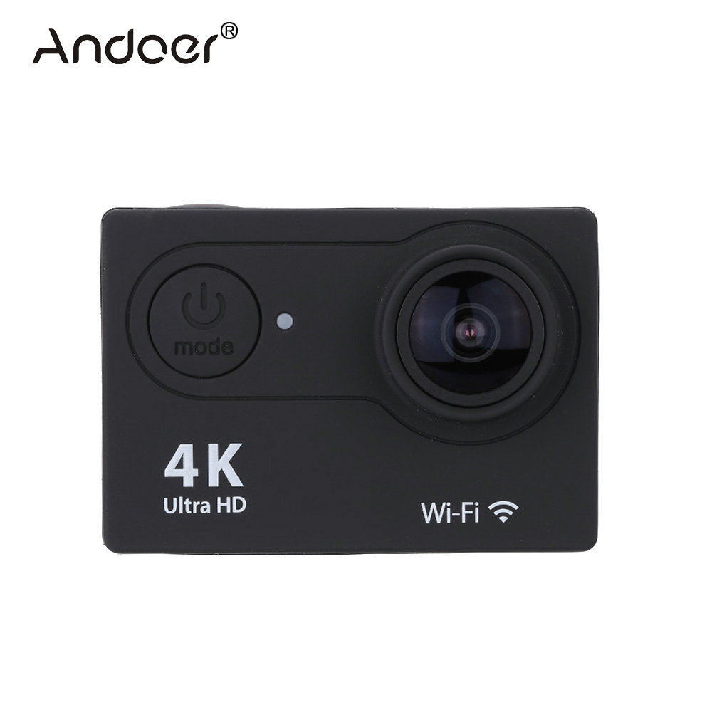 "Andoer 2.0"" LCD Action Camera 4K Camera Full HD 1080P APP Wifi Sport Camera DV Wide Angle Lens Camcorder with Remote Watch(China (Mainland))"