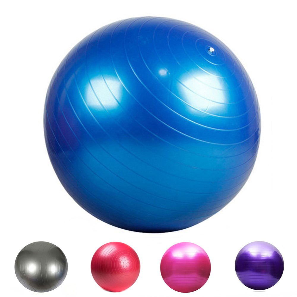 30Inch 75CM High Strength Anti-Burst Exercise Yoga Ball Eco-PVC Multi Gym Workout Fitness Training Stability Balance Balls(China (Mainland))