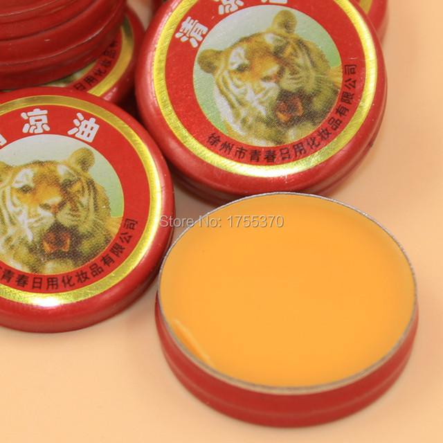 Новый 8 шт. тигр бальзам штукатурка мазь кремы бальзамо де тигр эфирные масла для ликвидации головная боль холодной головокружение