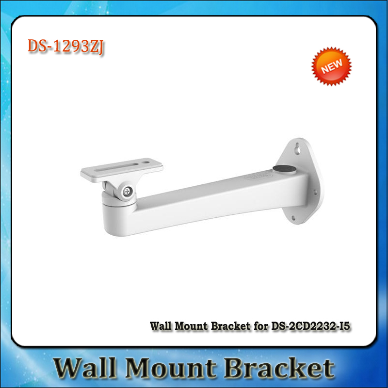 Original Hik DS-1293ZJ Bracket Wall Mount bracket For IP BULLET Camera DS-2CD2232(D)-I AND DS-2CD3232(D)-I(China (Mainland))