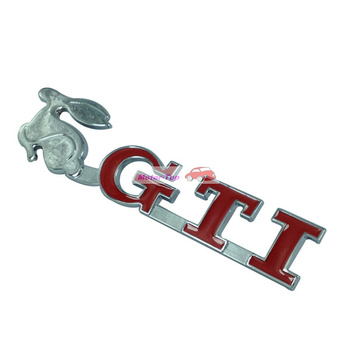 Metal Hood Front Grille Grill Badge Emblem Auto For GTI GOLF CC Passat Magotan Free Shipping High Quality Wholesale