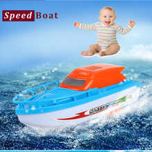 Electric Speedboat Speed Racing Boat Motor Baby Bath Bathtub Kids Toys X'mas Gift Speed Boat Electronic for Babies Bathroom fun(China (Mainland))