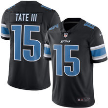 2016 Rush Limited Men's Detroit Lions Golden Tate Black Color Top Quality(China (Mainland))